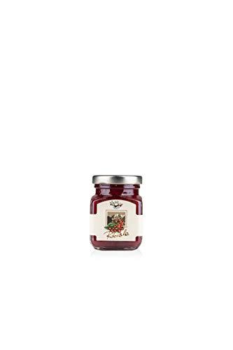 Alpe Pragas - Fruchtkompott - 75% rote Johannisbeeren - 12 Packungen à 110 g