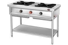 mariya cooking Range 2 burner silver