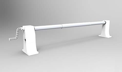 Pool System Protection ICPE8-550/100 Motorplanen-Aufroller ausziehbar für Pools von 2,15 bis 5,50 m...