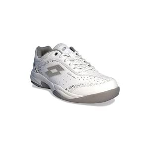 Lotto Sport Court Logo VIII Women Si, Damen, white/silver