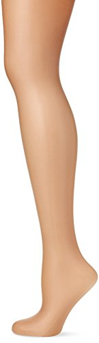 Pretty Polly Naturals-8D Oiled Tights, Collant Donna, Beige (Slightly Sunkissed), M-L