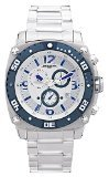 Jorg Gray JG 9800-13 Men's Swiss-Orologio cronografo da uomo con datario, Sapphire Crystal-Bracciale in acciaio (Ebel Bracciali)