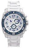 Jorg Gray JG9800-13 - Men's Swiss Chronograph Watch, Date Display, Sapphire Crystal, Stainless Steel Bracelet