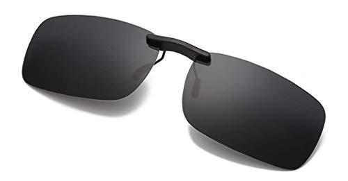 NAVARCH Gafas Clip Polarizadas Gafas de Sol Clip on Gafas de Sol para Gafas de Miopía al Aire Libre/Conducción/Pesca