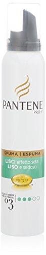 spuma pro-v new lisci effetto seta tenuta forte cheveux normali e spessi 200 ml