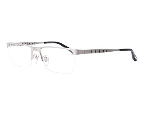 Chopard Brille (VCHA-98-M 0Q39) Metall abgebürstet silber