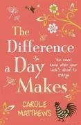 The Difference a Day Makes: Written by Carole Matthews, 2009 Edition, Publisher: Headline Review [Hardcover]