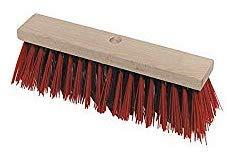 Strassenbesen Elaston 40 cm Flachholz mit Stielloch *Bauernlob*