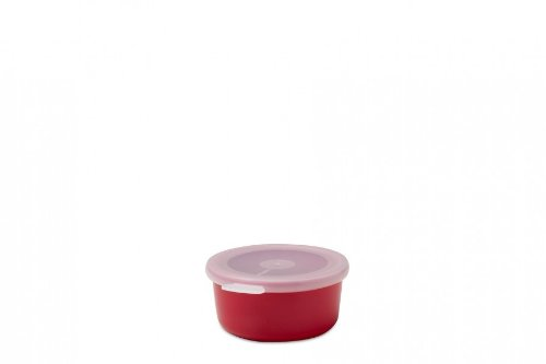 Mepal Schale mit Deckel volumia 200 ml, Plastik, Lunar Rot, 11.1 x 9.5 x 4.7 cm