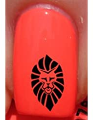 Tribal King Lion - Nail Decals by YRNails