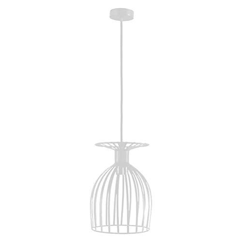 LED E27 Deckenlampe, Runde LED Kronleuchter, Schmiedeeisen Weinglas Kronleuchter - Rahmen Flur Lampe...