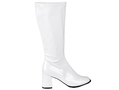 Boland Damen Stiefel - 46217 - Weiß - 43 EU
