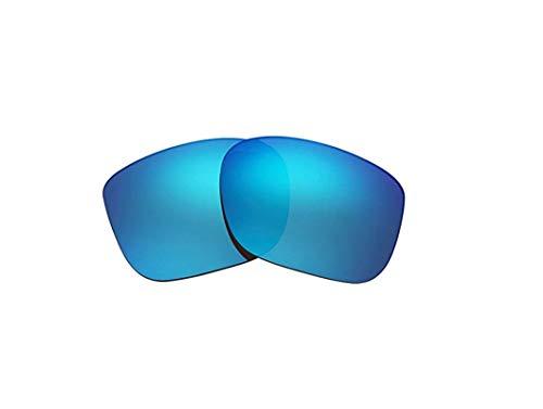 Polarisierte Ersatzgläser für Oakley LBD Women OO9193 Gr. 85, blau
