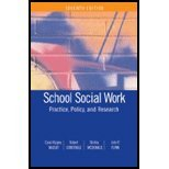 School Social Work (7th, 08) by Massat, Carol Rippey - Constable, Robert - McDonald, Shirley - [Paperback (2008)]
