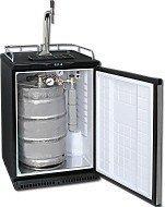 Fassbierkühlschrank bis zu 50L Fässer (Bierbar) - inkl. Schanksäule Elegant und Kompensatorhahn