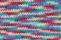 Grundl 861-188 - matassa di lana per lavori a maglia, della gamma cotton quick print, 50 g, colore: arcobaleno multicolore