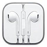 EarPods, écouteurs avec micro pour produits Apple Samsung iPhone 6S, 6s Plus, 6, 6 Plus, 5S, 5 C, 4, Galaxy, Edge, S6,