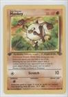Pokemon - Mankey (Pokemon TCG Card) 1999 Pokemon Jungle Booster