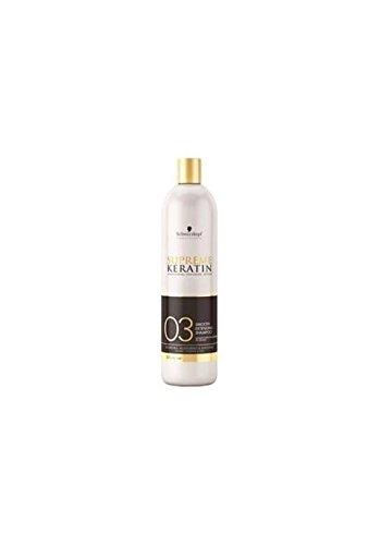 supreme keratin shampoing prolongateur de lissage 03 500ml