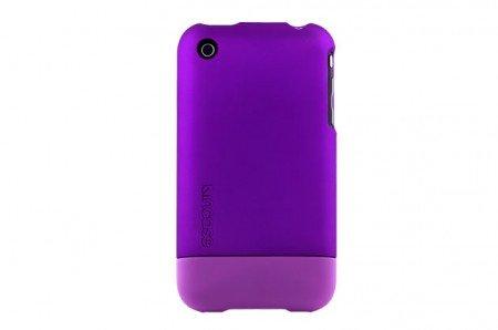 Incase iphone 3, case slider metallic purple