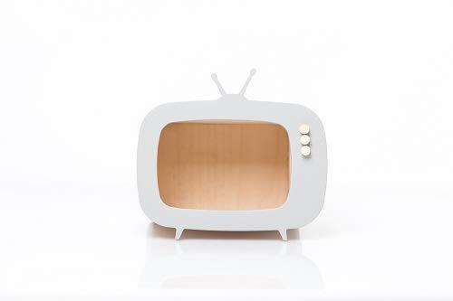 Up Warsaw à Varsovie 714131401291 Teevee Mini TV Box, Gris