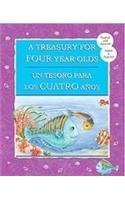 Portada del libro A Treasury For Four Year Olds / Un Tesoro Para Los Cuatro Anos