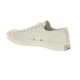 Converse Jack Purcell Leather Ox Herren Sneaker Weiß White