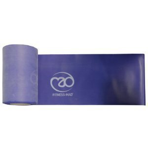 Resistance Band Medium - 15m roll x 15cm by Fitness Mad
