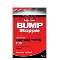 Sealed Tube (High Time Bump Stopper alcohol free Liquid Bump Stopper PLUS 2oz(SEALED PACKAGE WITH PLASTIC TUBE!!!!) by High Time)