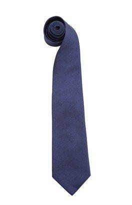 Premier Workwear Business Fashion Clip Ansteck Krawatte 'Colours' - schnell & praktisch PR785 47 x 10 (Clip Navy Tie Clip)