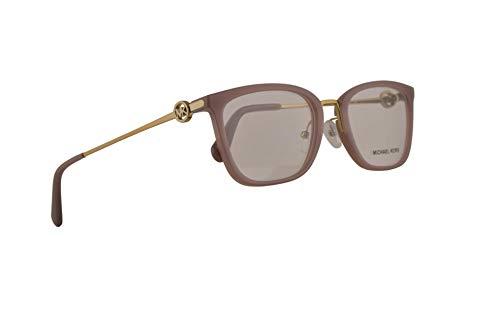 Michael Kors MK4054 Captiva Brille 54-20-140 Milchig Rosa Mit Demonstrationsgläsern 3320 MK 4054