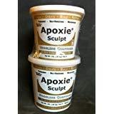 Apoxie Sculpt Modelliermasse, 4 Pfund, Naturfarbe, von Aves