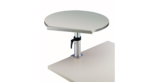 Maul 9301182 Ergonomisches Tischpult, Tragkraft 30 kg, Höhenverstellbar, Neigbar, Platte 60x51x2,2...