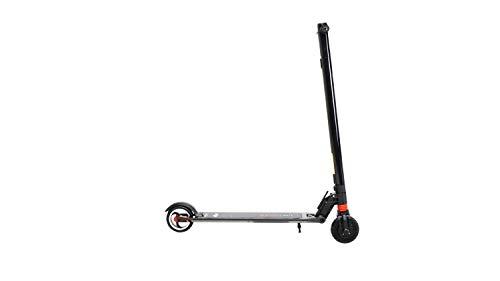 eFlux Elektroroller Scooter - 250 Watt Radnabenmotor - Bis 20 km/h - 20 Km Reichweite - Nur 7,6 Kg leicht - Klappbar - E-Scooter (Lite Three Schwarz)