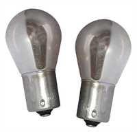 Preisvergleich Produktbild BA15S01C - PY21W Verchromte Birne BA15S 12V 21W (gegenüber liegende Pins) Blinkerlampe