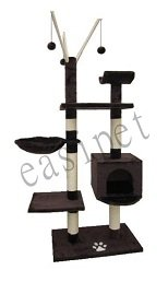 Cat Tree Activity Centre 193 Brown by Easipet