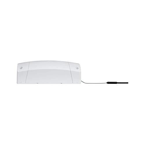 Paulmann 50044 SmartHome ZigBee Cephei Dimm Controller max. 400W 230V AC Weiß/Grau Kunststoff Schaltgerät 500.44, Plastik, 16.3 x 6 x 5.3 cm -