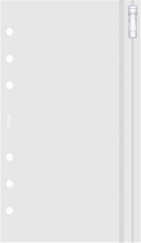 Filofax 133618 Personal Klarsichttasche mit Reißverschluss