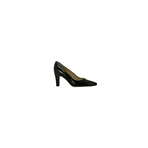 Tosca Heeled Court Shoe PEWTER