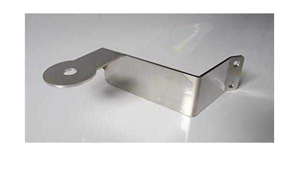 Truckdanet Support dantenne en acier inoxydable 3 mm pour camion s/érie Stralis Cube Hiway e All Black