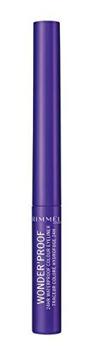 Rimmel london - rimmel london wonder'proof waterproof eyeliner 004 deep purple