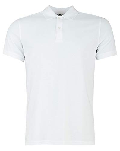 J.Lindeberg Troy Clean Pique Polo Shirt, White, XL, used for sale  Delivered anywhere in Ireland