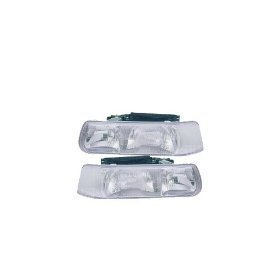 Chevy Silverado 1500 2500 3500 Headlights Headlamps Driver/Passenger Pair New by Headlights Depot