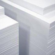 50 Blatt A4 selbstklebendes weißes Papier ; Für Tintenstrahl - und Laserdrucker !!!