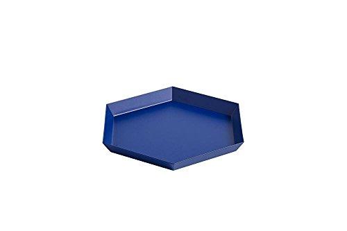 HAY - Tablett Kaleido - königblau - S (22 x 19 cm) - Clara Von Zweigbergk