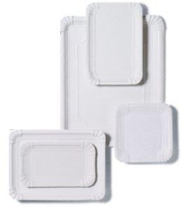 Lot de 50 plateaux en carton pour pâtisseries 31 x 38 cm -