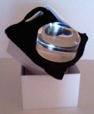 Lente di ingrandimento a cupola con messa a fuoco automatica, spessore 50 mm, ingrandimento 4x, utilizzabile senza
