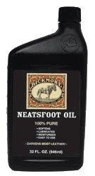 Bickmore 100% reines Neatsfoot Oil 32 oz - Leder Conditioner und Holz-Finish - Funktioniert hervorragend auf Lederstiefel, Schuhe, Baseball-Handschuhe, Sättel, Geschirre und Pferde-Tack -