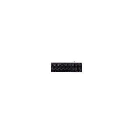 Bluestork BS-KB-MFIRST2/SP - Teclado (QWERTY, Multimedia Slim USB) Negro