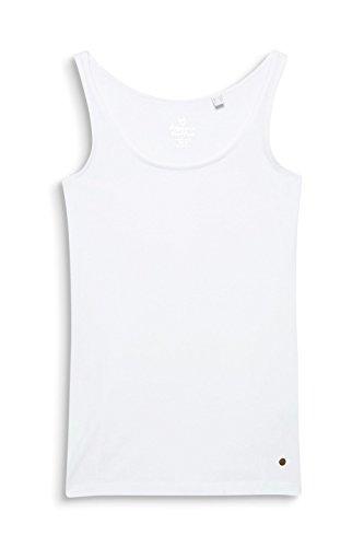 ESPRIT Damen Top Weiß (White 100)